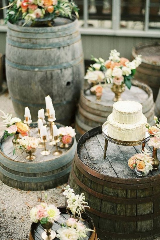 Wedding Dyi Ideas Trending Diy Whiskey Barrel 15 Whiskey Barrel Wedding Ideas