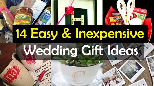 Wedding Gift Ideas Diy 14 Awesome Wedding Gift Ideas Youtube