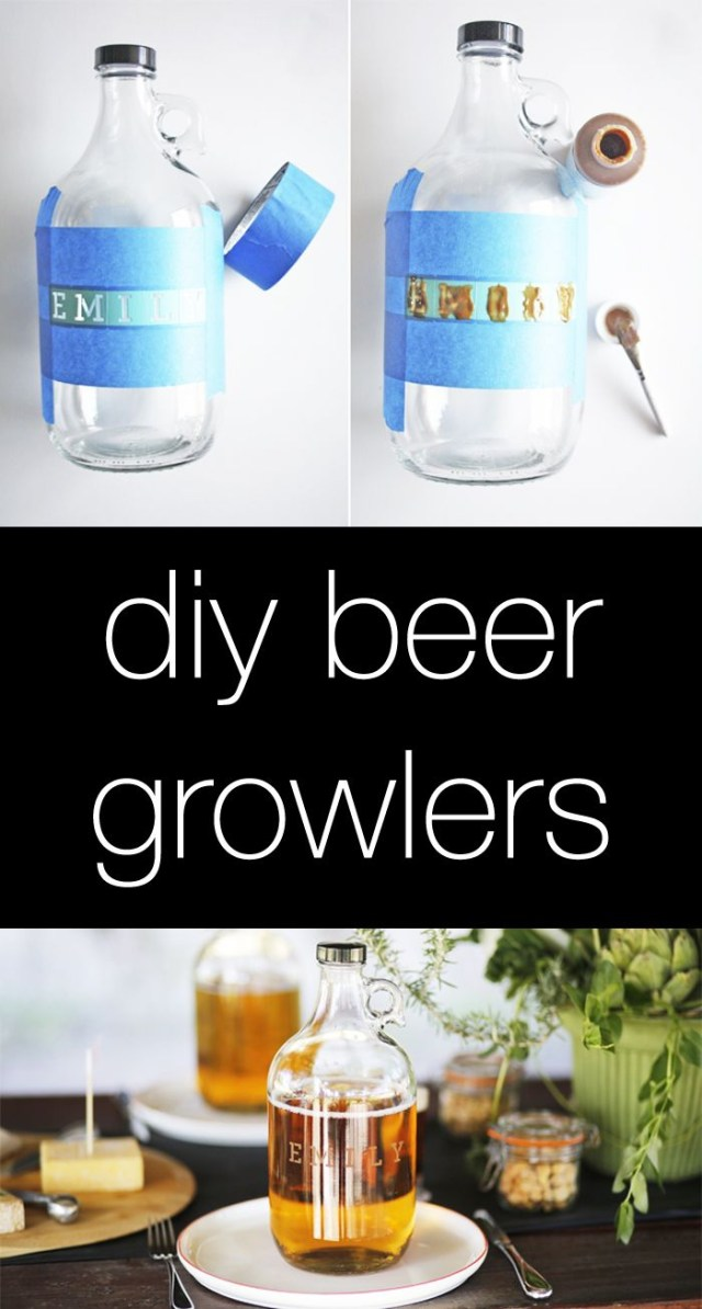 Wedding Gift Ideas Diy Wedding Gifts Diy Beer Growlers So Cute For Groomsmen Gifts
