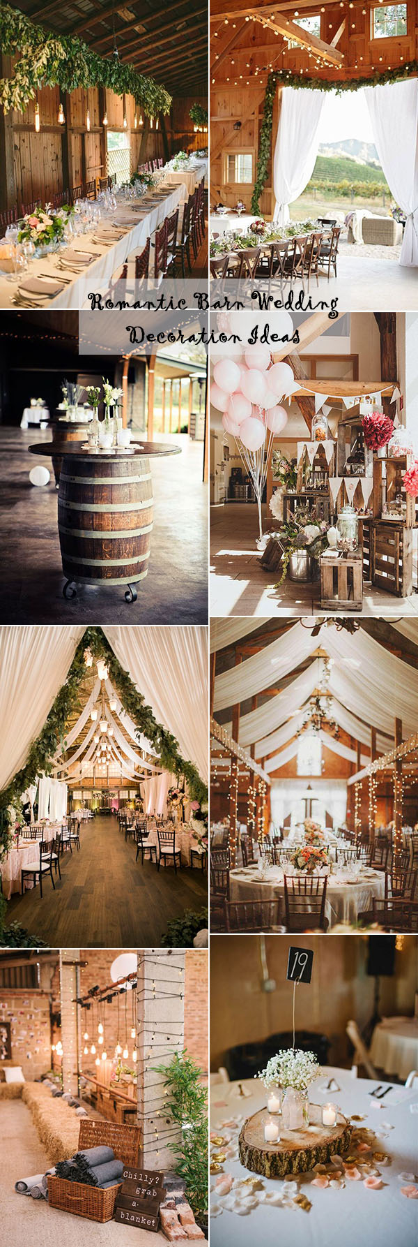 Wedding Ideas Decoration 25 Sweet And Romantic Rustic Barn Wedding Decoration Ideas