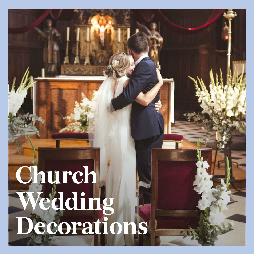 Wedding Initial Decor 9 Church Wedding Decorations To Enhance Your Ceremony Brides