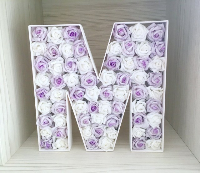 Wedding Initial Decor Lovelettersanalisa On Twitter Large Wooden Initial Lilac And
