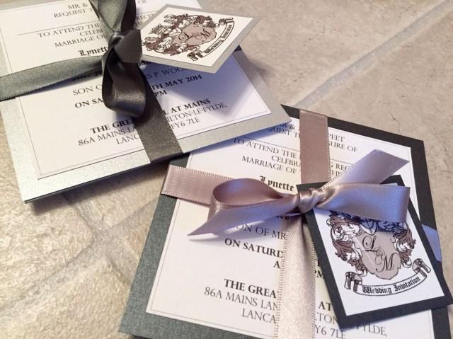Wedding Invitation Bundles Monochrome Coats Of Arms Wedding Invitation Bundles Coat Of Arms