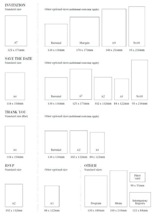 Wedding Invitation Dimensions 206258 Standard Wedding Invitation Size Together With How Much Do