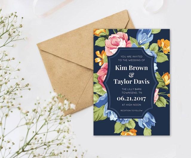 Wedding Invitation Example Wedding Invitation Wording Picmonkey