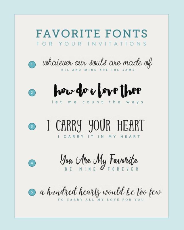 Wedding Invitation Font Fonts For Diy Wedding Invitations The Budget Savvy Bride