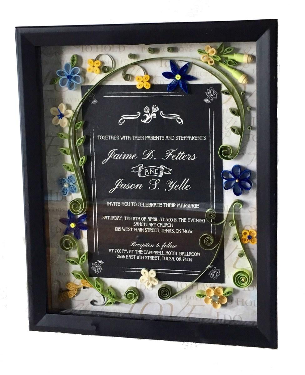 Wedding Invitation Keepsake Wedding Invitation Keepsake Ideas Gift Idea Made From Wedding