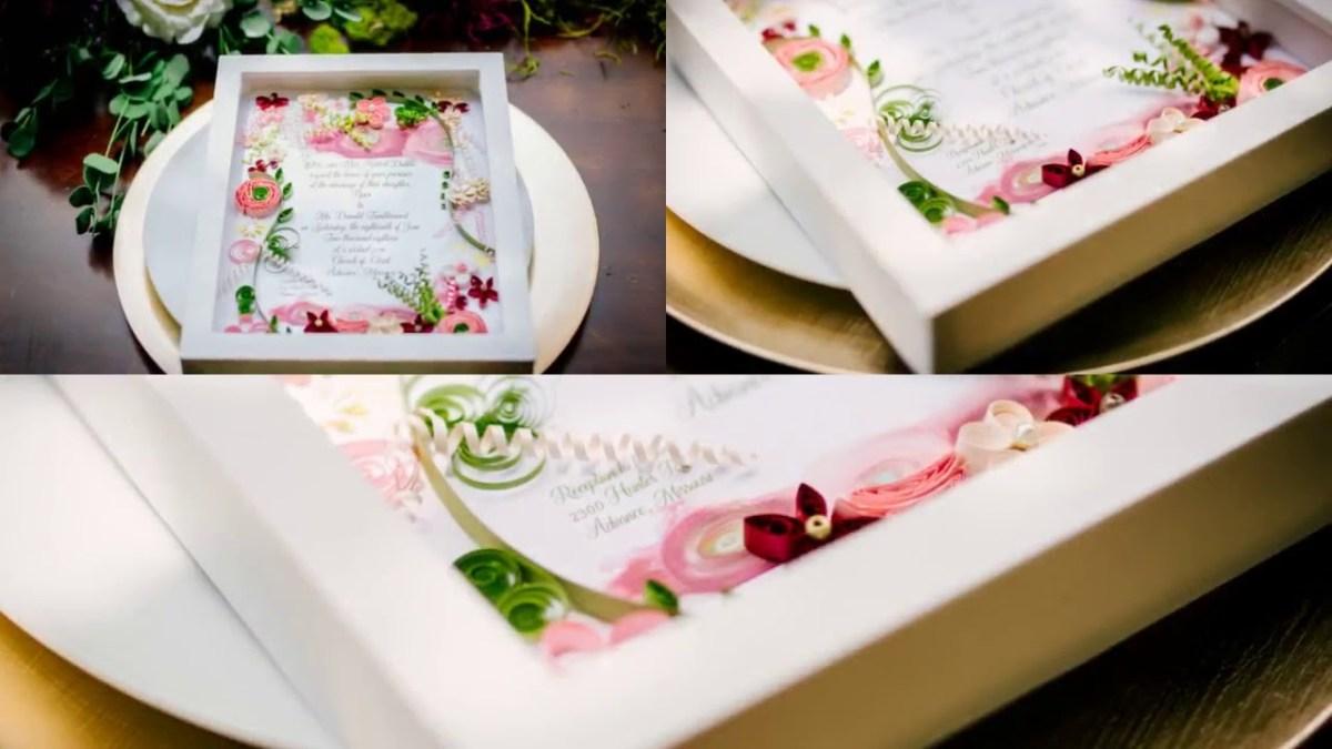 Wedding Invitation Keepsake Wedding Invitation Keepsake Youtube