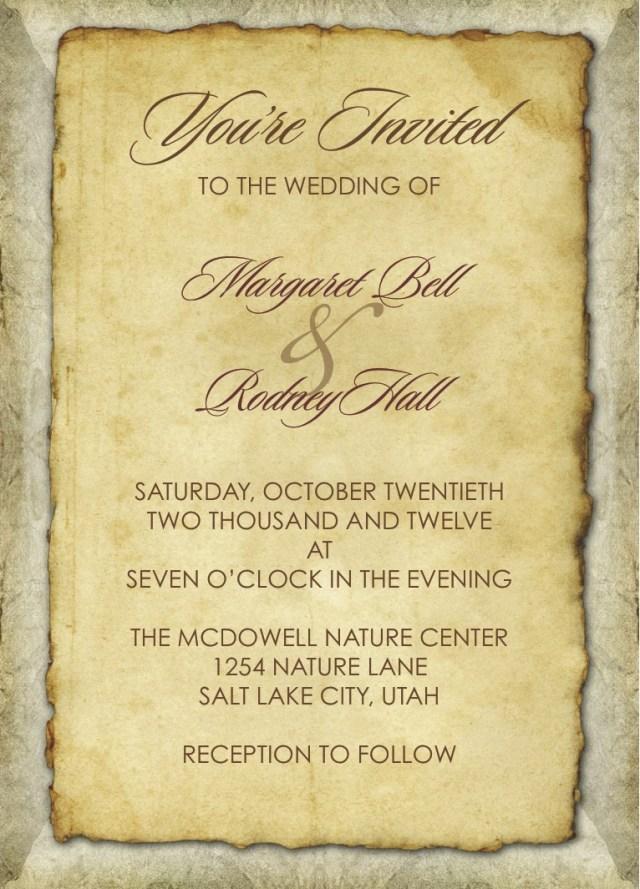 Wedding Invitation Paper Old Paper Dixons Printing
