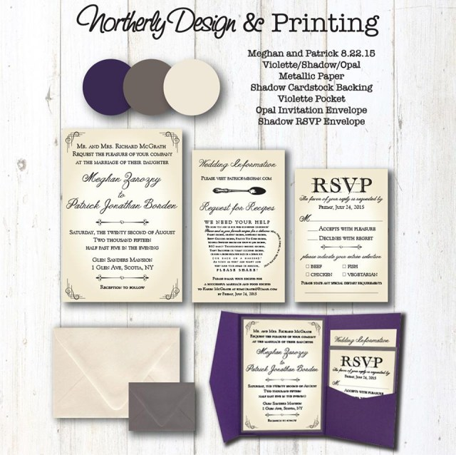 Wedding Invitation Pockets Pocket Wedding Invitations Northerly Design Printing Traverse Cit