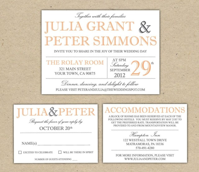 Wedding Invitation Size Wedding Invitation Size Template Idasponderresearchco