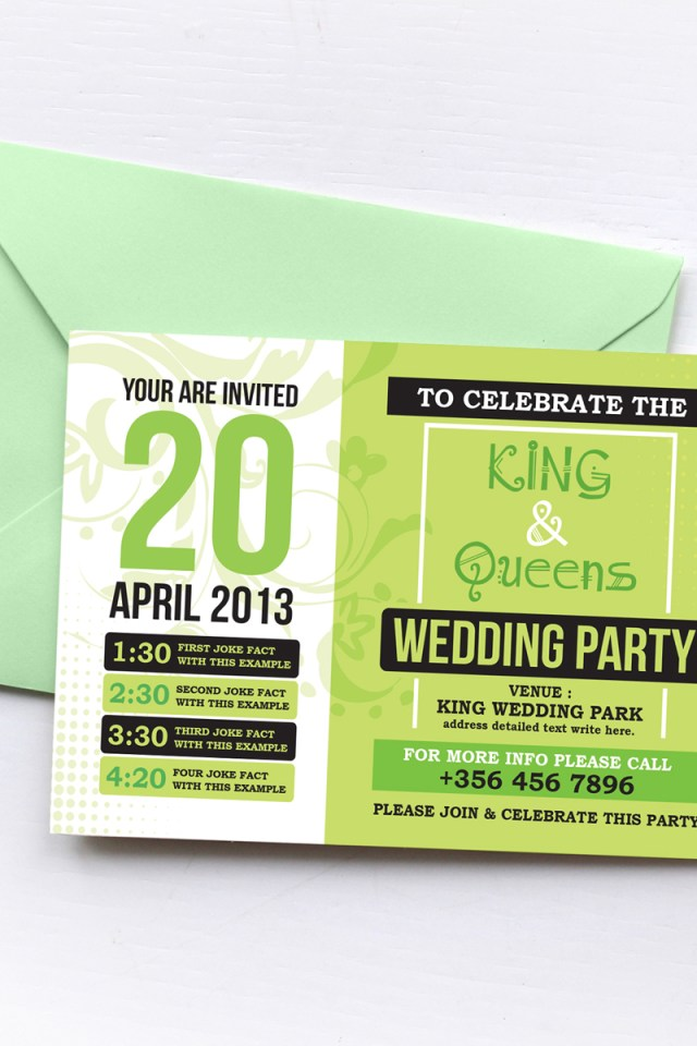 Wedding Invitation Suite Wedding Invitation Suite Corporate Identity Template 74555