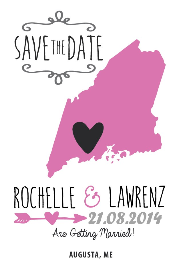 Wedding Invitations And Save The Dates State Wedding Invitations Save The Date Maine Invitations R2