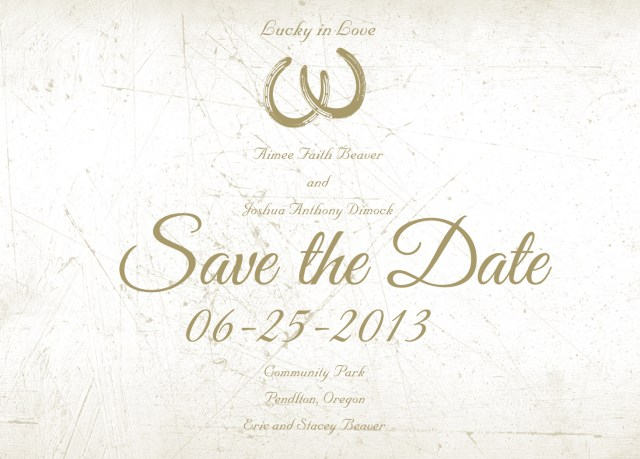 Wedding Invitations And Save The Dates Western Wedding Invitations Save The Date Award Winning