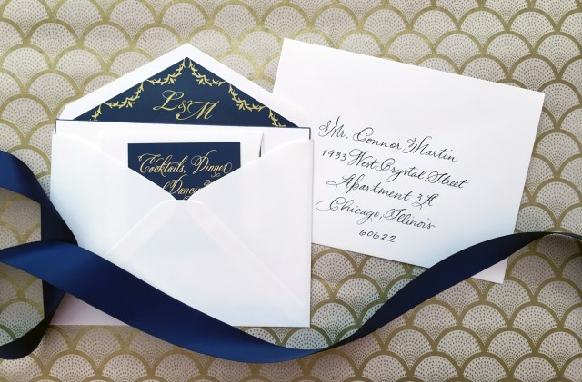 Wedding Invitations Envelopes Addressing Inner Envelopes Todays Weddings