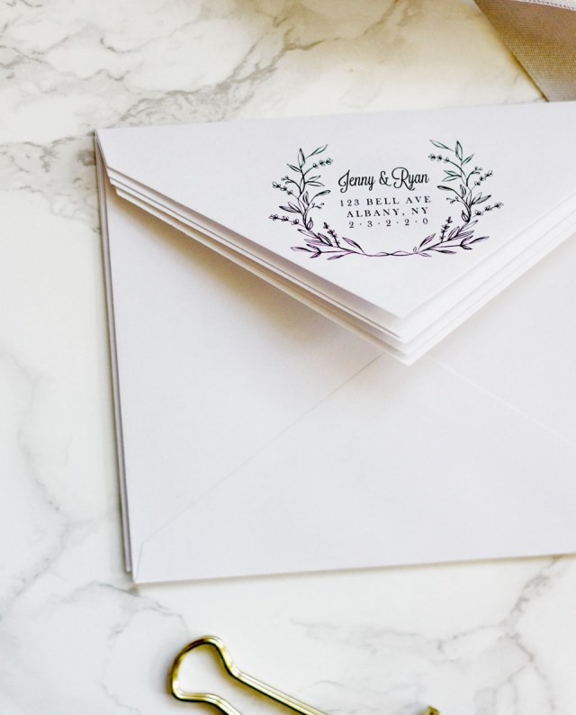Wedding Invitations Envelopes Easy Printable Envelope Template Pipkin Paper Company