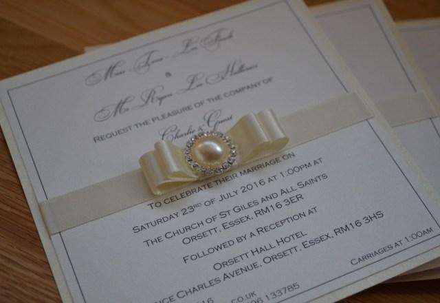 Wedding Invitations Essex Toni Ryan The Wedding Stationery Boutique