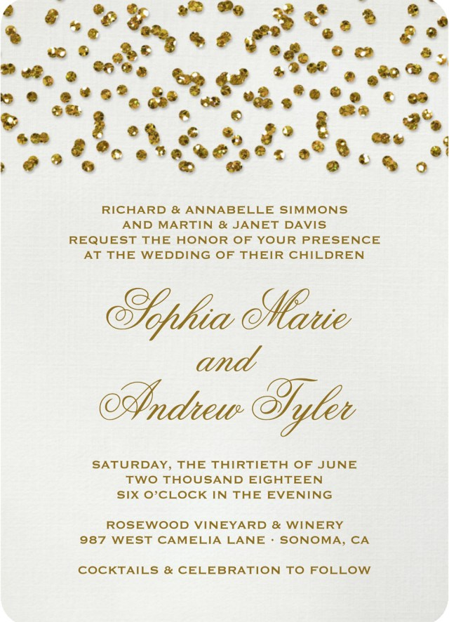 Wedding Invitations Gold 19 Glittery Wedding Stationery Ideas Hitchedcouk