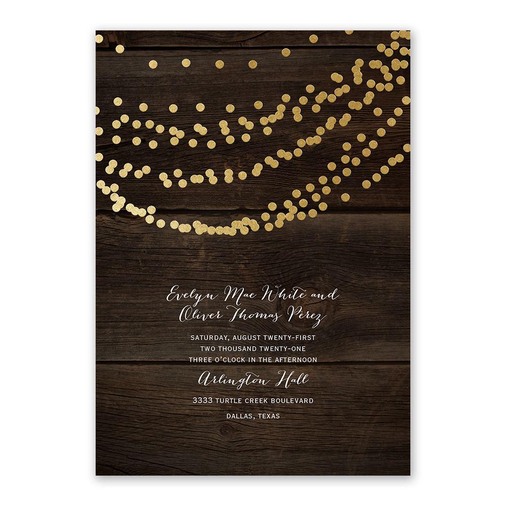 Wedding Invitations Gold Foil Wedding Invitations Invitations Dawn