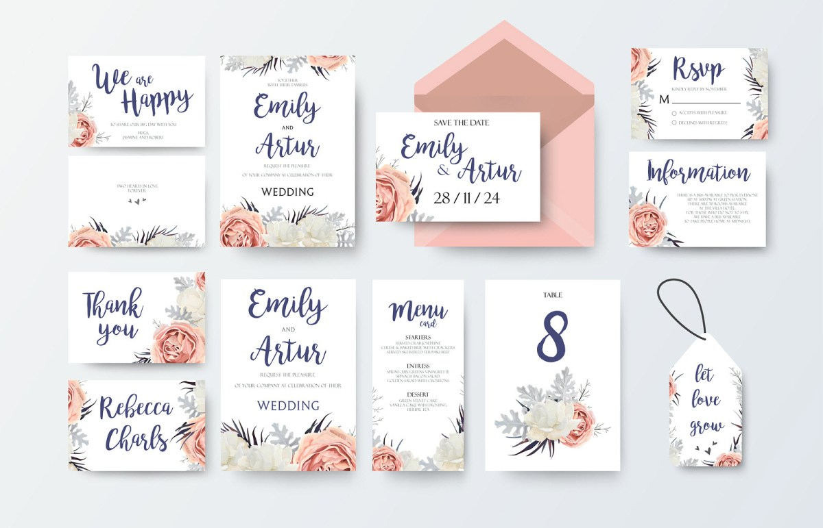 Wedding Invitations With Photos Best Printers For Diy Wedding Invitations Printer Guides And Tips