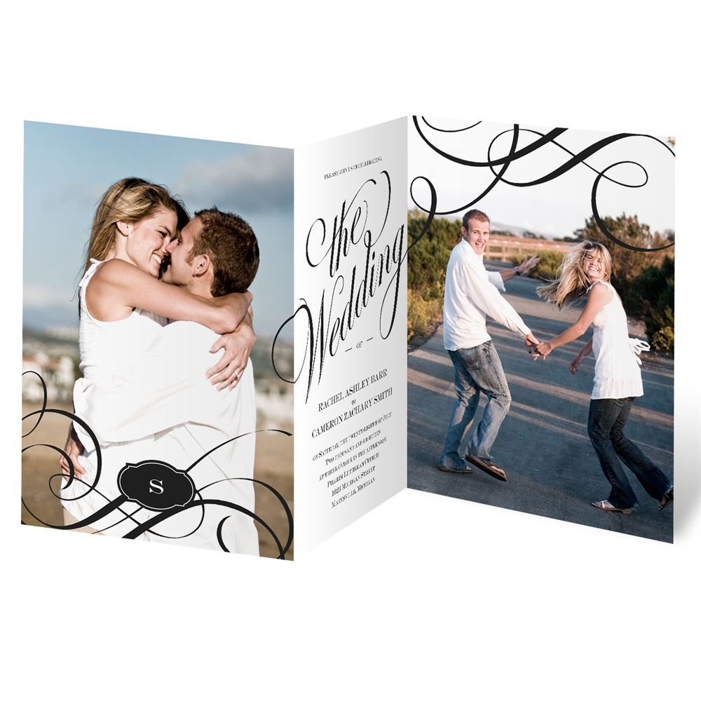 Wedding Invitations With Photos Special Event Invitation Invitations Dawn