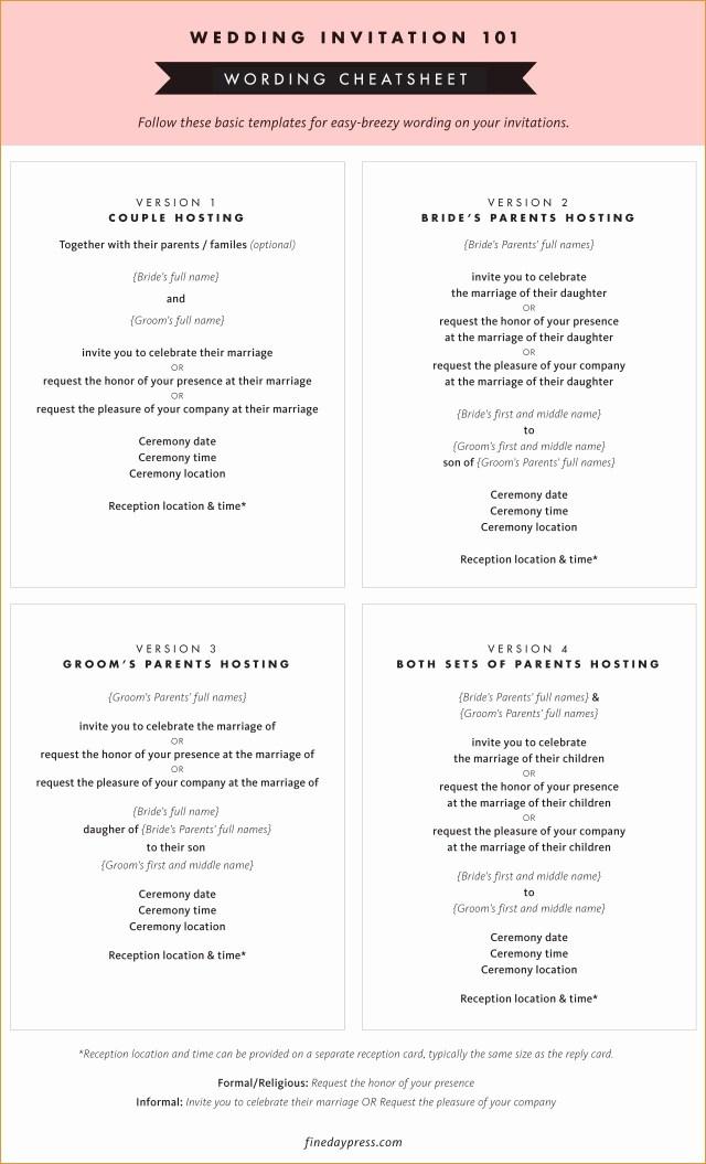 Wedding Invitations Wording Samples Unique Wedding Invitations Wording Samples From Bride And Groom