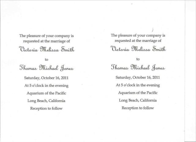 Wedding Invitations Wording Samples Wedding Invitation Wording Templates Marina Gallery Fine Art
