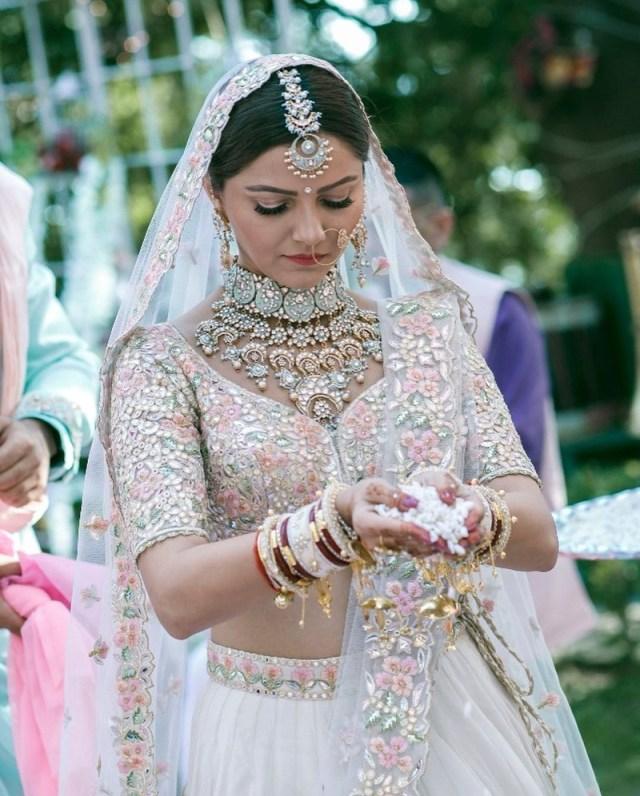 Wedding Lehengas Bridal 15 Brides Who Wore A White Lehenga To Their Indian Wedding And