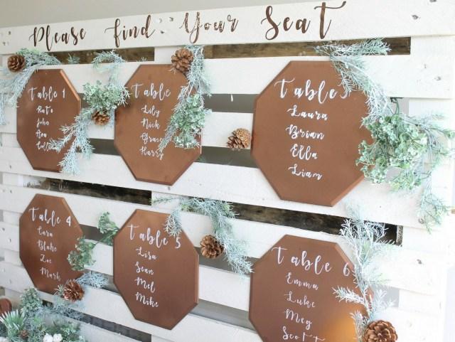 Wedding Pallet Ideas Diy Wood Palette Wedding Seating Chart Fun365