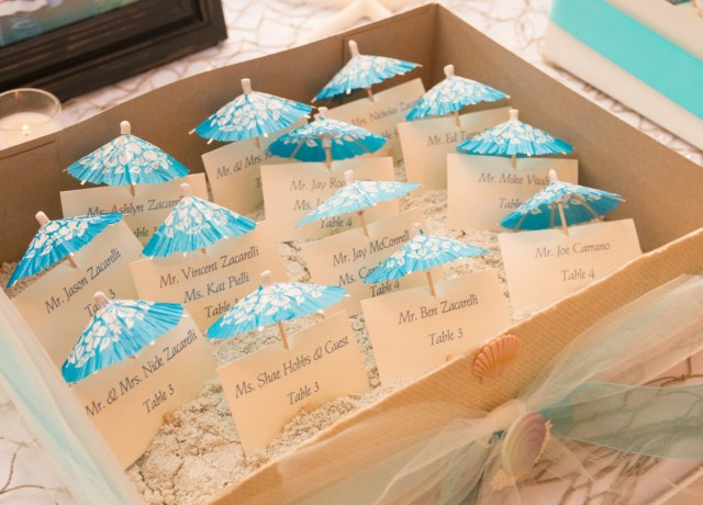 Wedding Placecards Ideas 20 Wonderful Escort And Place Card Ideas For A Beach Wedding Beach