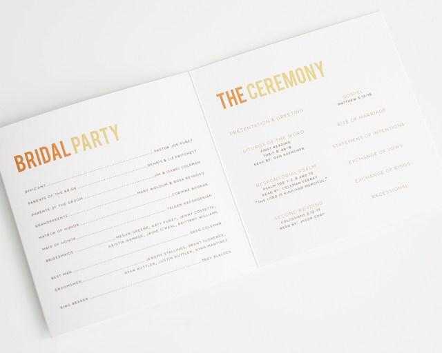 Wedding Program Ideas 10 Ideas For Your Wedding Program Wording Bestbride101