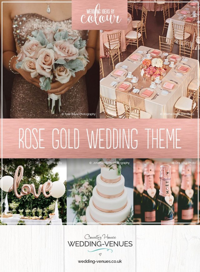 Wedding Reception Ideas Rose Gold Wedding Theme Wedding Ideas Colour Chwv