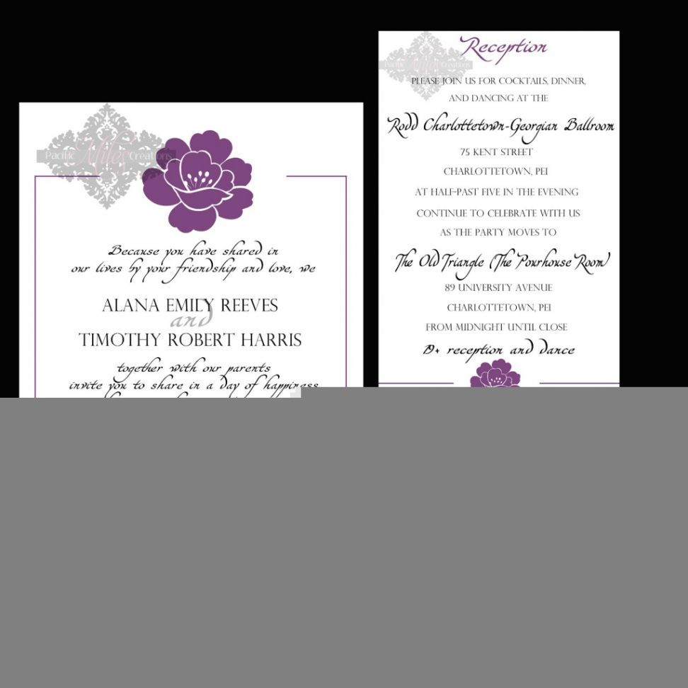 Wedding Reception Invitation Quotes Wedding Reception Invitation Templates Inspirational Post Wedding