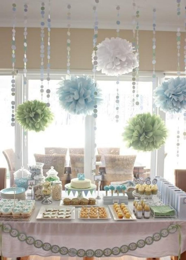 Wedding Shower Decorations Bridal Shower Decorations Tissue Paper Poms And Garland Etsy