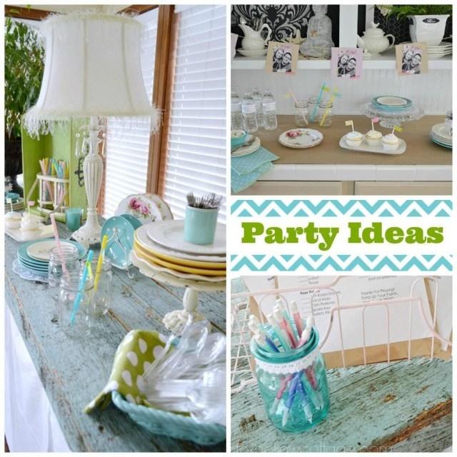 Wedding Shower Decorations Budget Bridal Shower Decor And Ideas Fox Hollow Cottage