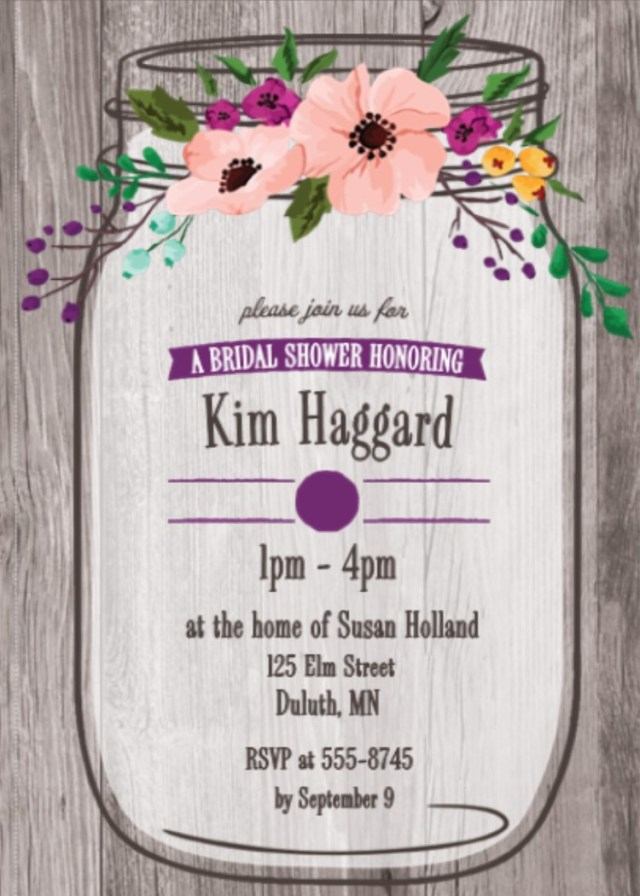 Wedding Shower Invite Tropical Garden And Bbq Bridal Shower Invitations New Selections