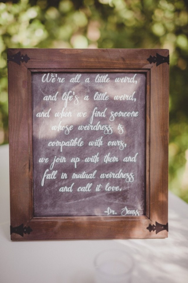 Wedding Signs Diy Diy Chalkboard Wedding Signs A Simple Hack Miss Bizi Bee