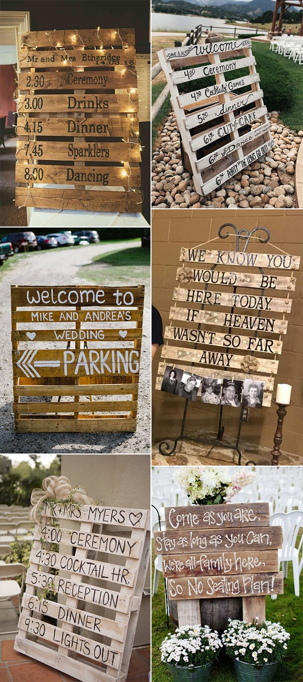 Wedding Signs Diy Diy Wooden Pallets Country Wedding Signs Emmalovesweddings