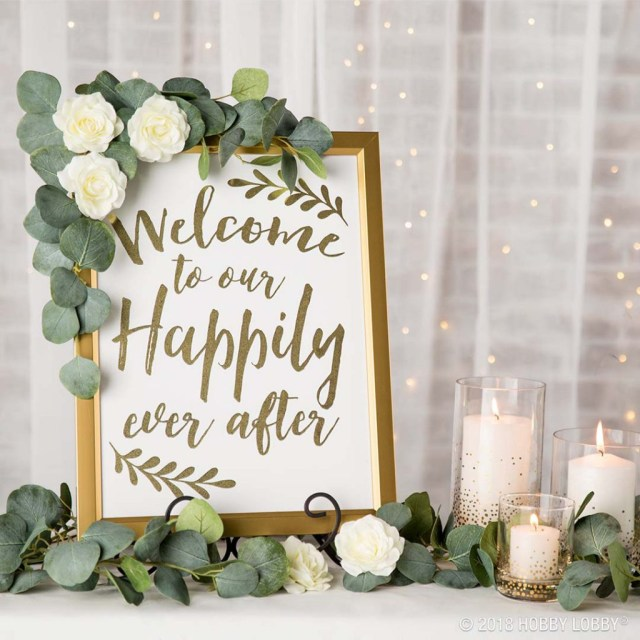 Wedding Signs Diy Stylish Wedding Details For The Diy Bride Hob Lob Blog