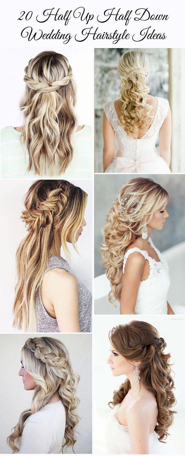 Wedding Styling Ideas 20 Awesome Half Up Half Down Wedding Hairstyle Ideas 2515760 Weddbook