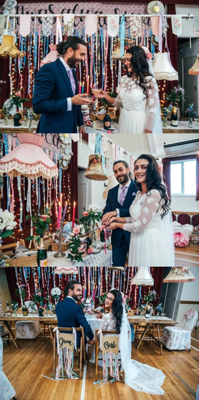 Wedding Styling Ideas Blog Latest Boho Festival Village Hall Wedding Styling Ideas