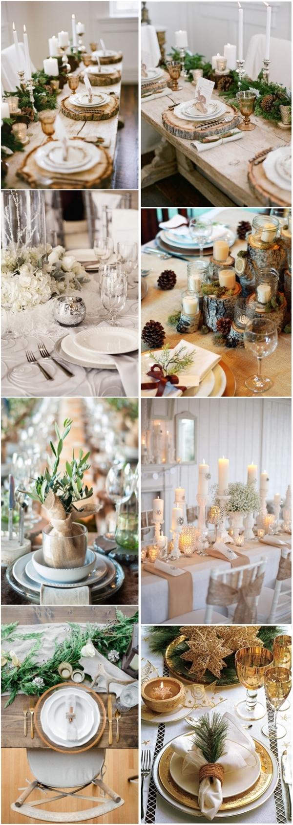 Wedding Table Ideas 30 Spectacular Winter Wedding Table Setting Ideas Deer Pearl Flowers