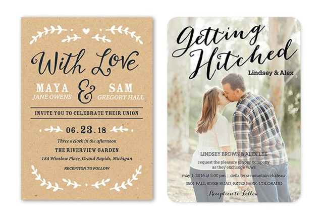 What To Say On A Wedding Invitation 35 Wedding Invitation Wording Examples 2018 Shutterfly