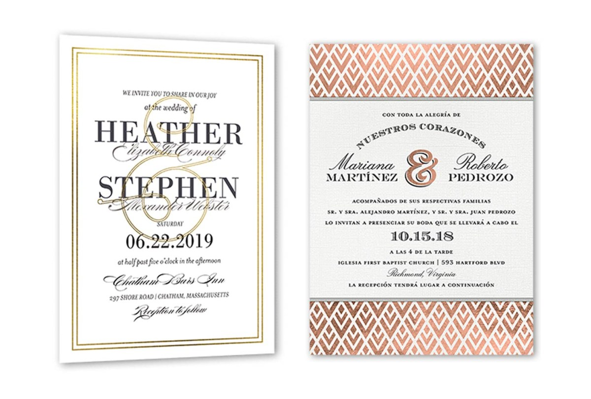 What To Write On A Wedding Invitation 35 Wedding Invitation Wording Examples 2018 Shutterfly