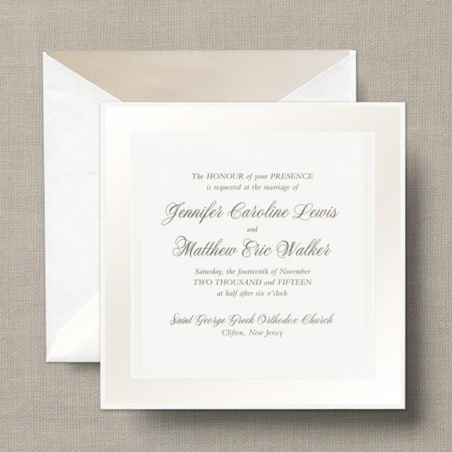 White Wedding Invitations White Wedding Invitations White Wedding Invitations With A