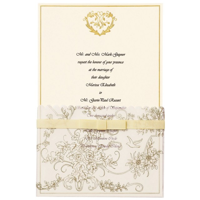 Wilton Wedding Invitation Kits Gold Wedding Invitation Kits Wilton Copy Kit Makes Girlsgossipco