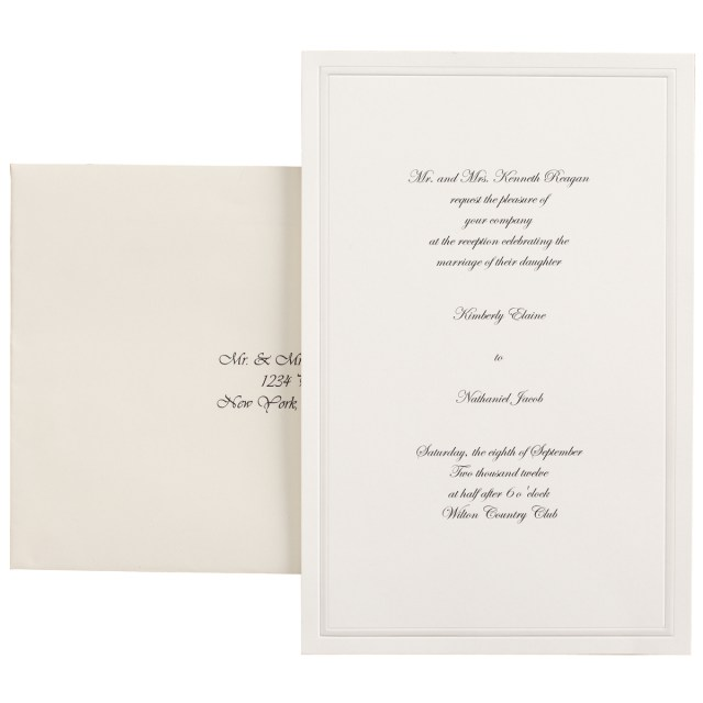 Wilton Wedding Invitation Kits Wilton Invitation Kit 100 Ct Walmart