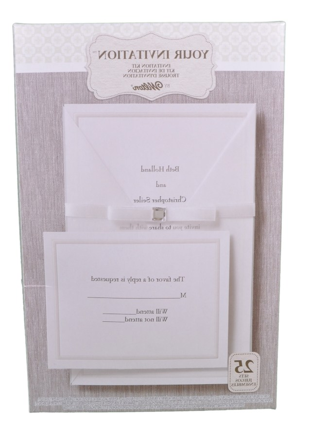 Wilton Wedding Invitation Kits Wilton Wedding Invitation Templates Fresh Invite Kit 25 Pieces Brown