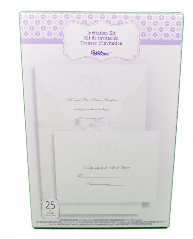 Wilton Wedding Invitation Kits Wilton Wedding Invitations Contemporary Wilton Printing Templates