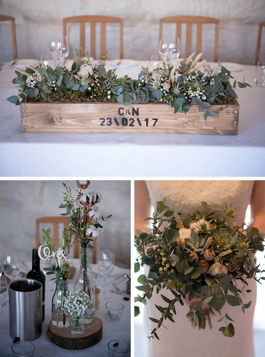 Winter Wedding Decorations Chrissy And Nathans Winter Wedding At Curradine Barns Real